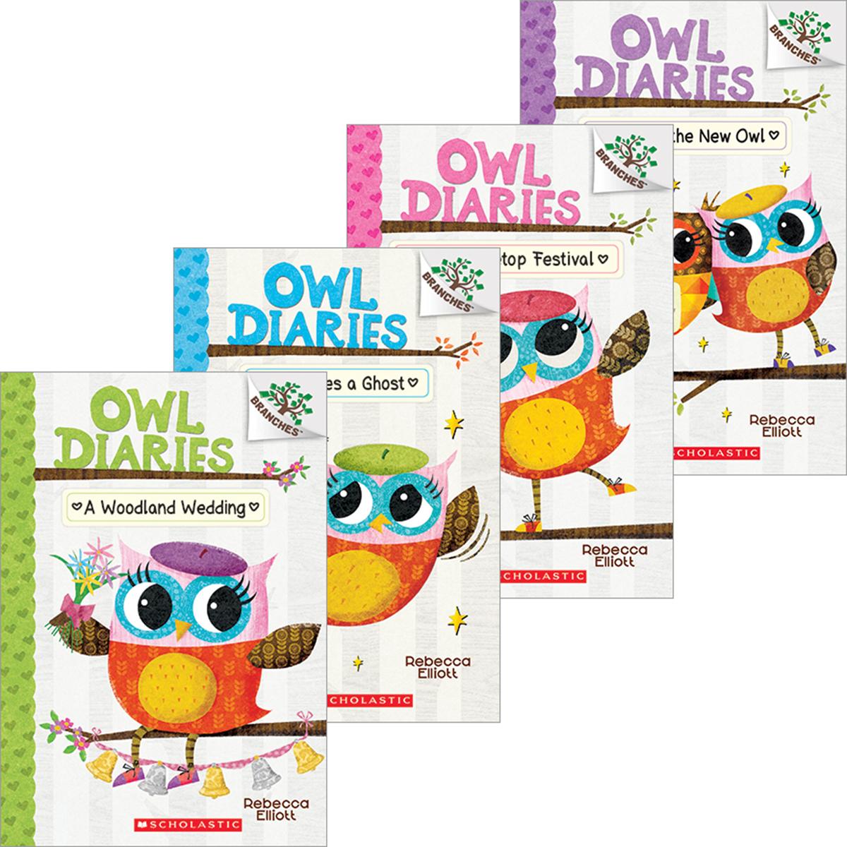 Owl Diaries #1-#14 Pack