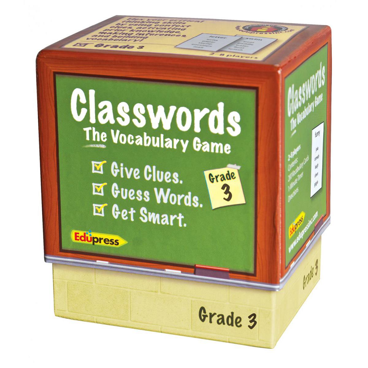 Classwords The Vocabulary Game Gr. 3
