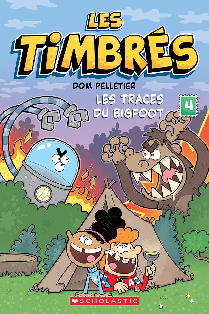 Les Timbrés : Les traces du Bigfoot - Tome 4