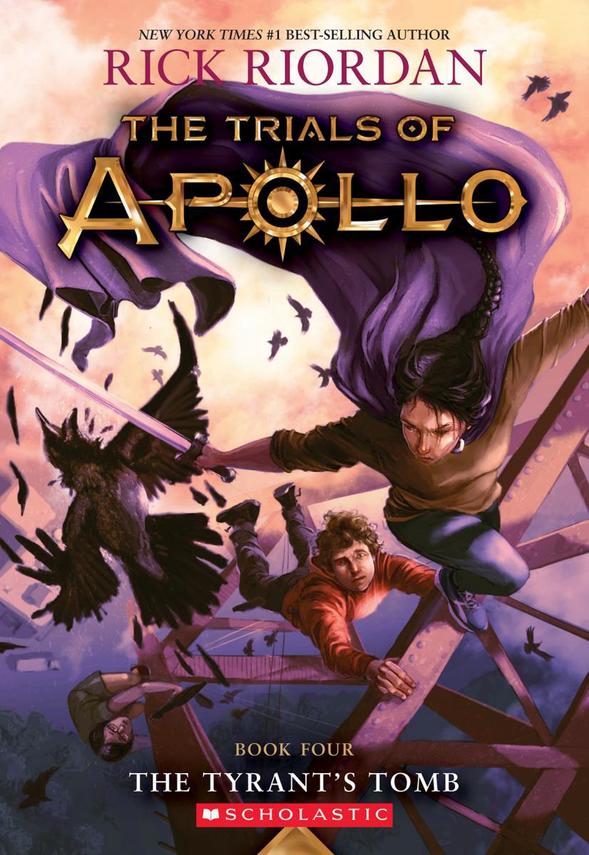 Trials of Apollo #4: The Tyrant's Tomb