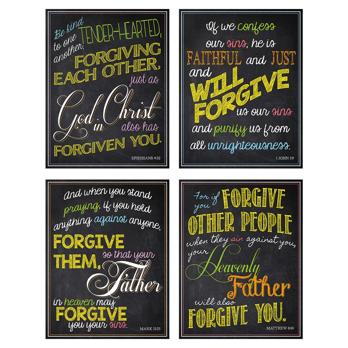 Forgiveness Bulletin Board Set