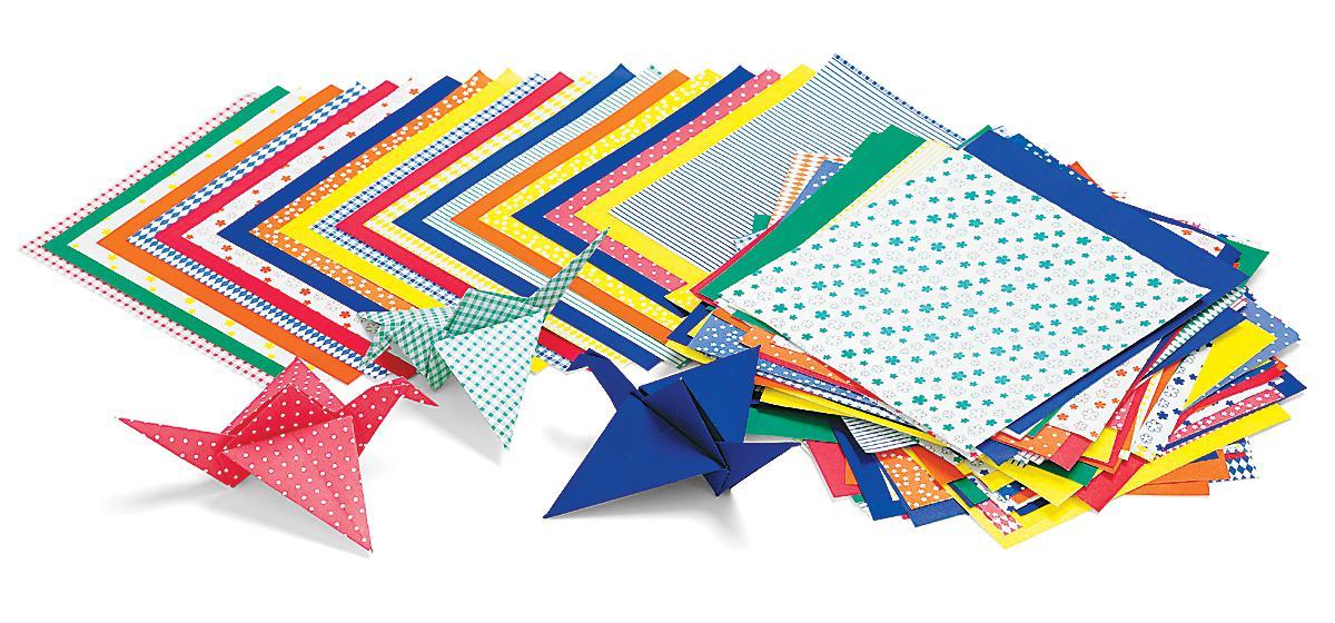 Papier imprimé Origami