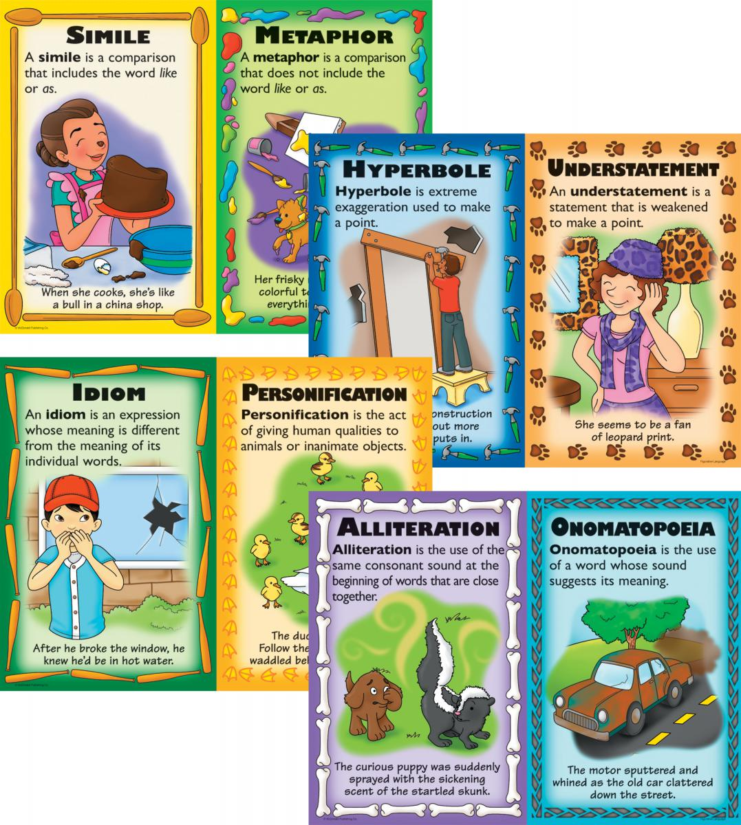 Figurative Language Posters 4-Pack
