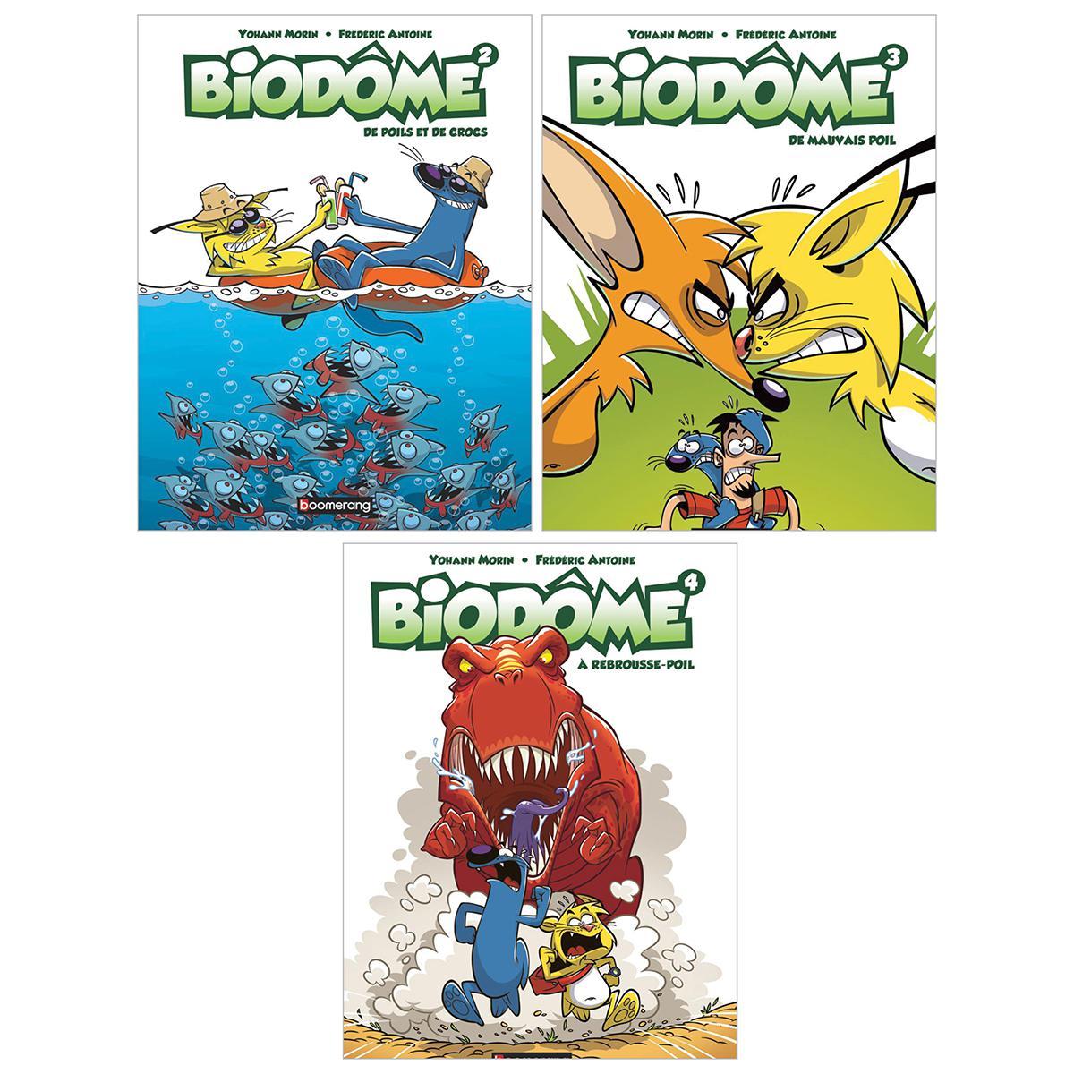 Trio Biodôme