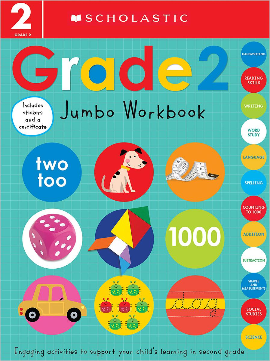 Scholastic Early Learners: Grade 2 Jumbo Workbook