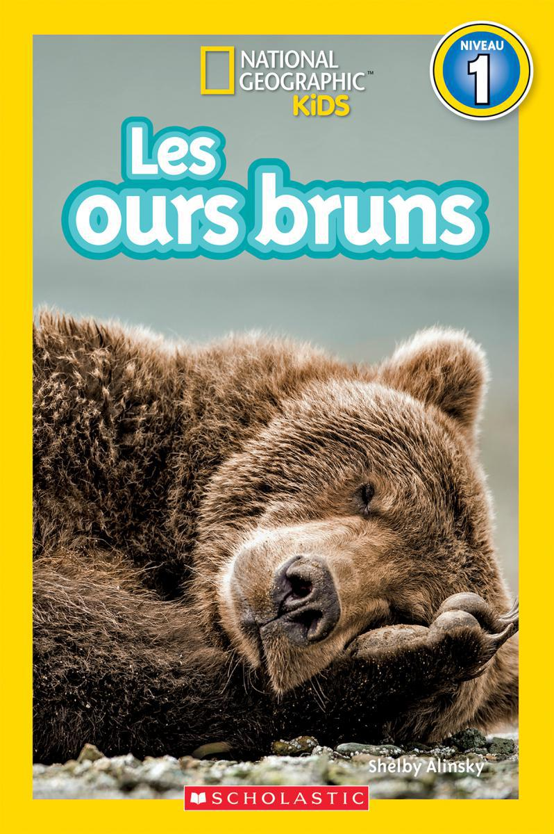 National Geographic Kids : Les ours bruns