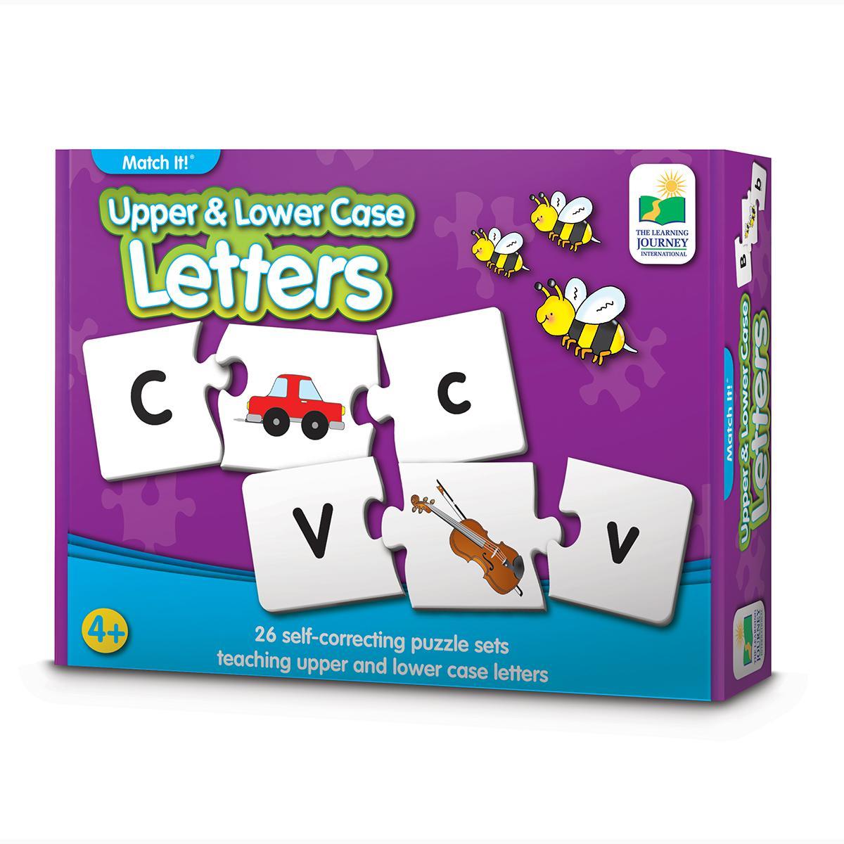 Match It! Upper & Lower Case Letters