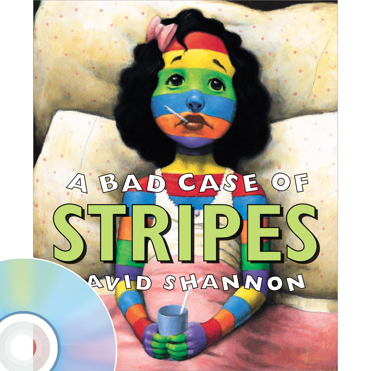 A Bad Case of Stripes Book & CD