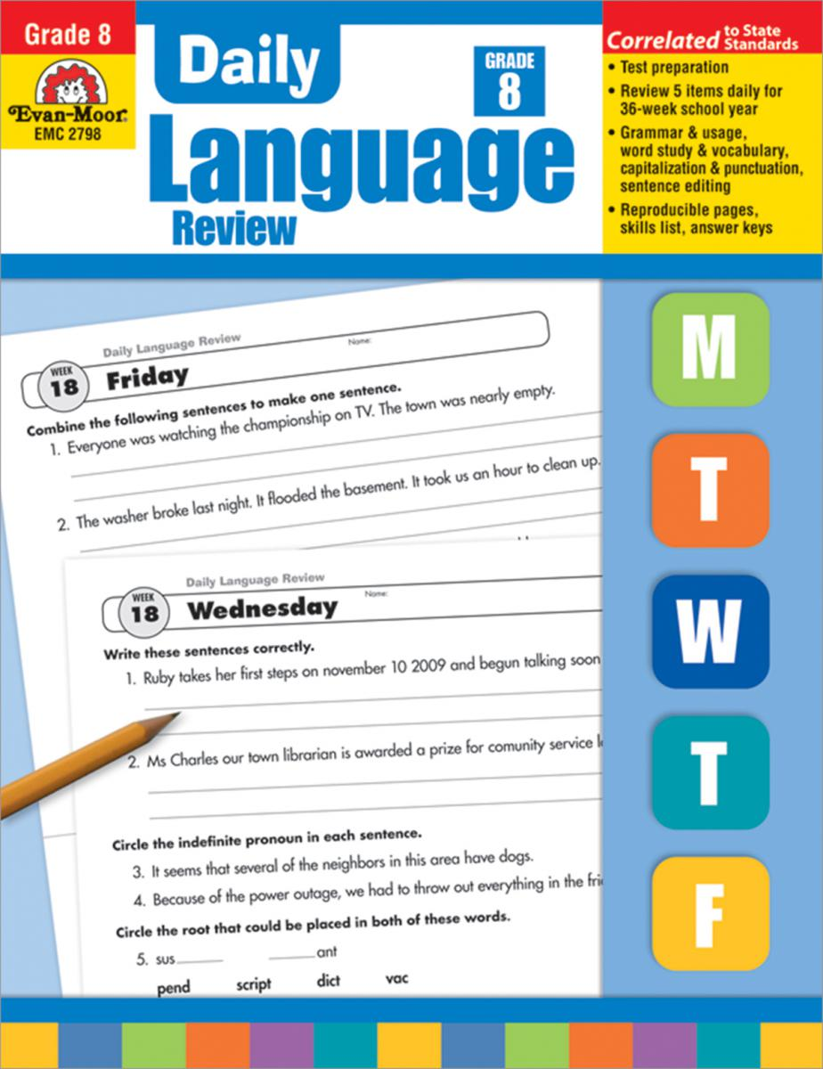 Daily Language Review Grade 8