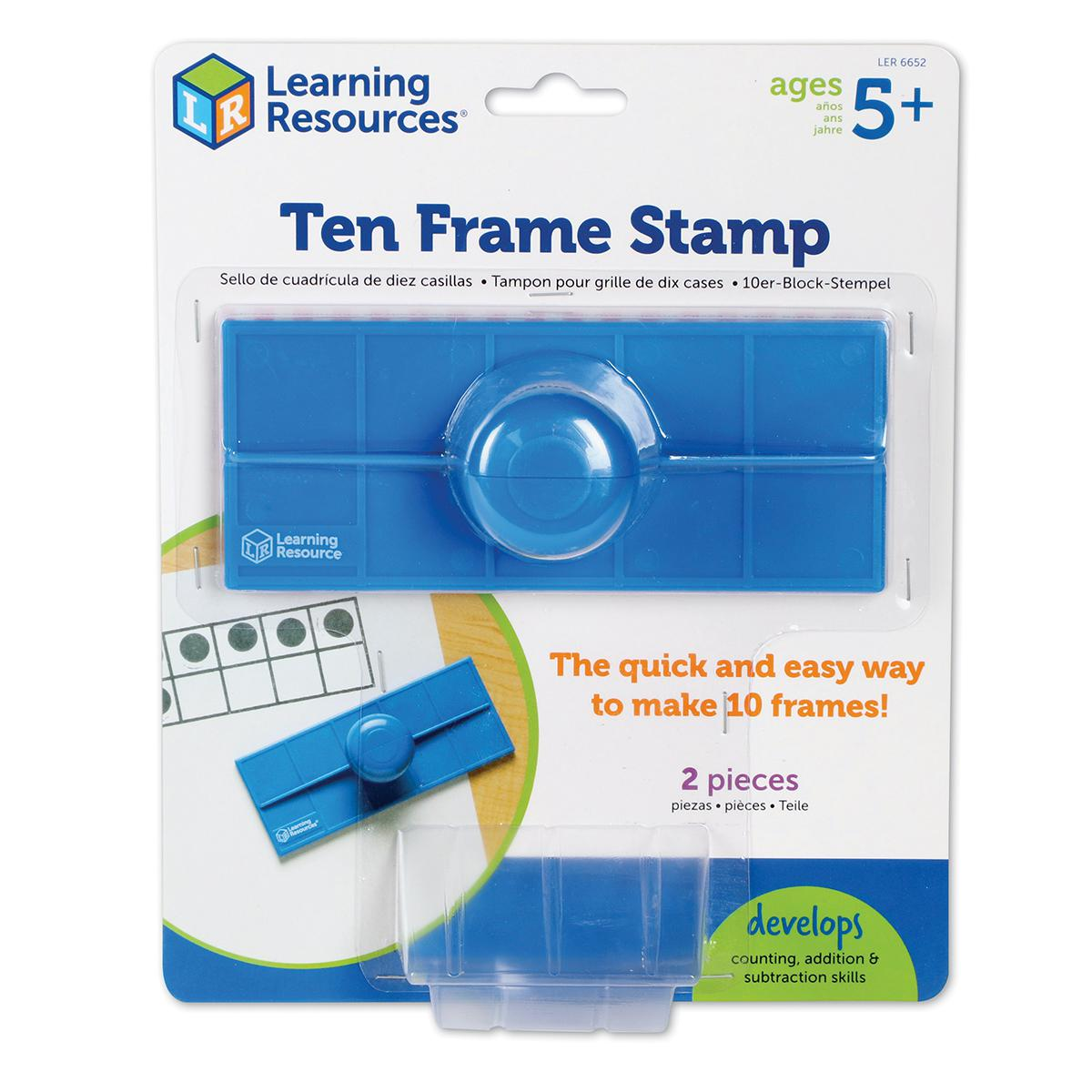 Ten-Frame Stamp