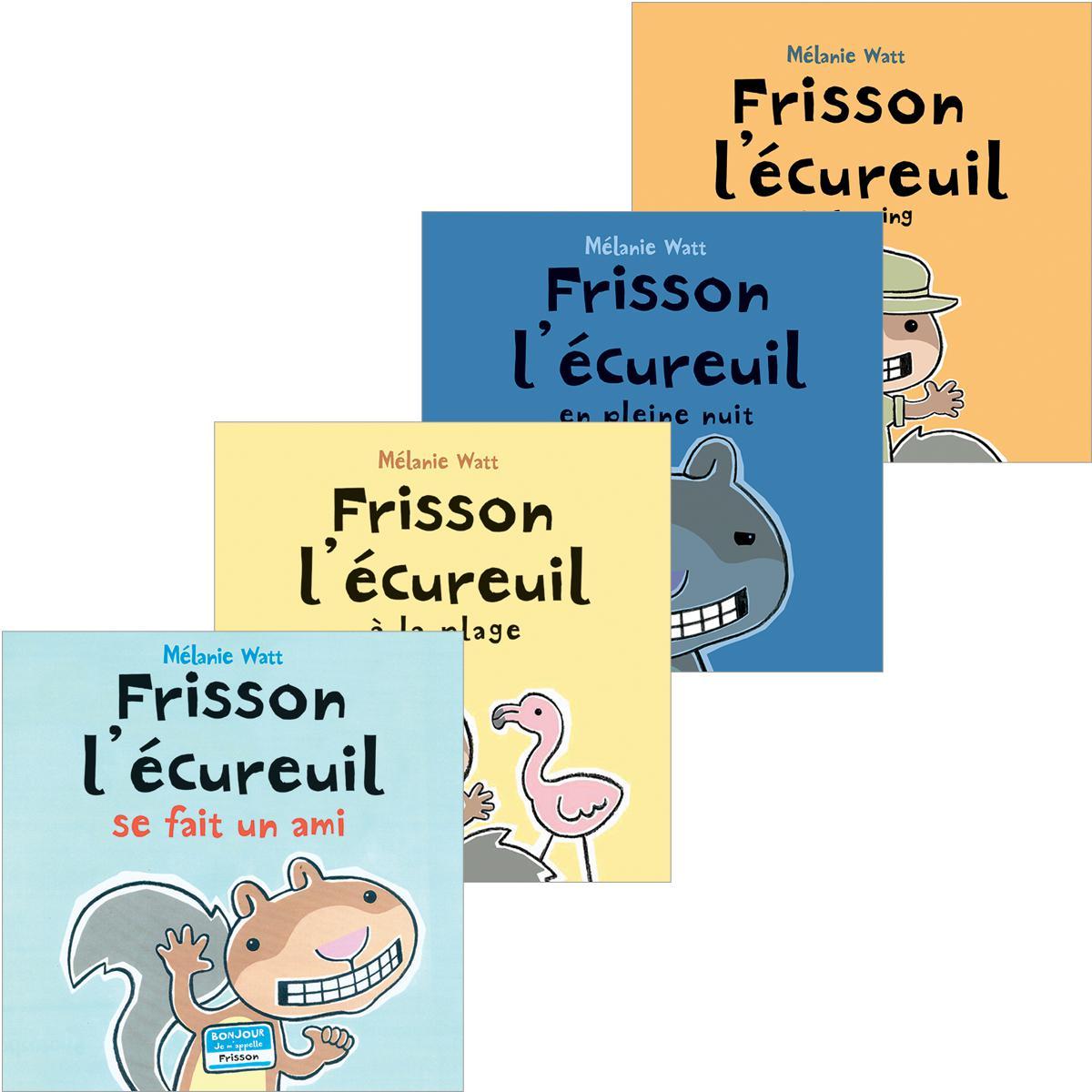 Ensemble Frisson l'écureuil