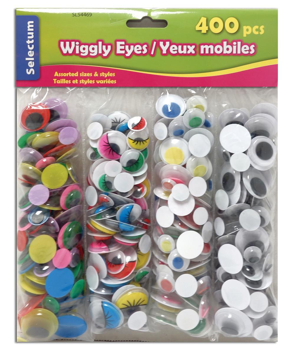 Yeux mobiles assortis