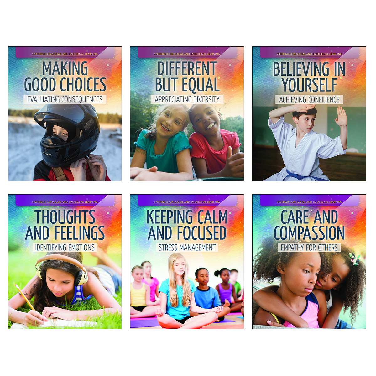 Spotlight on Social and Emotional Learning 6-Pack
