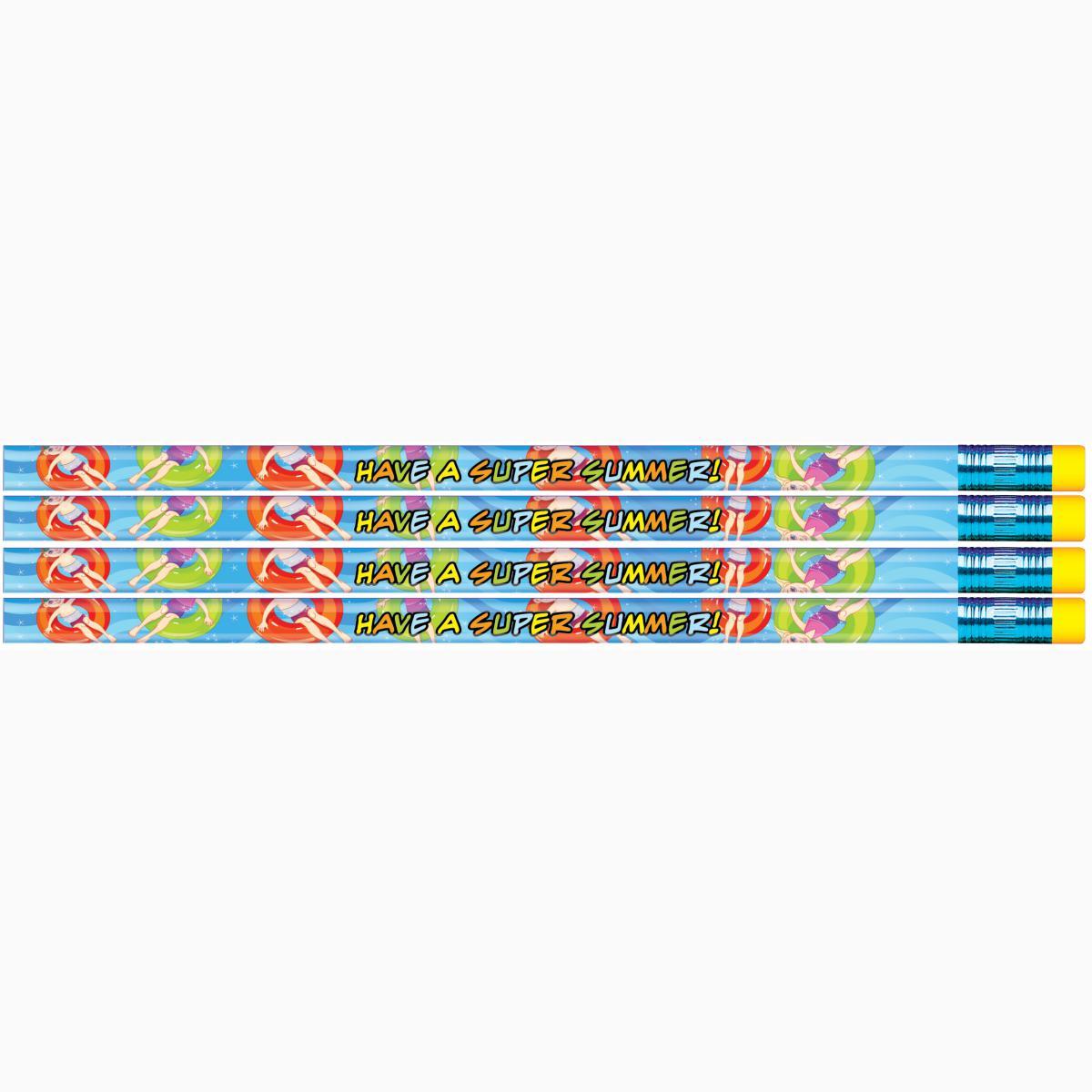 Have a Super Summer! Seasonal Pencils