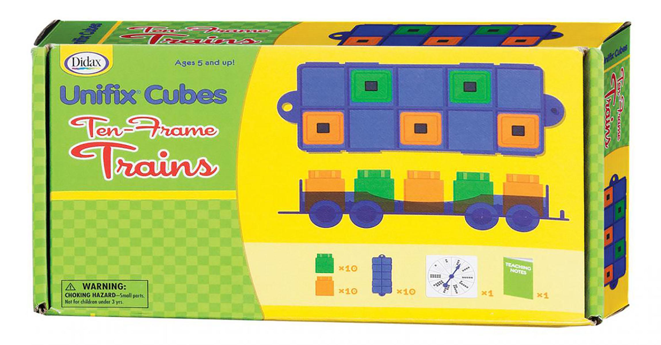 Trains des dizaines Unifix