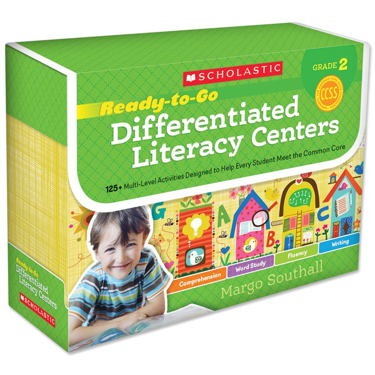 Ready-to-Go Differentiated Learning Centers Grade 2