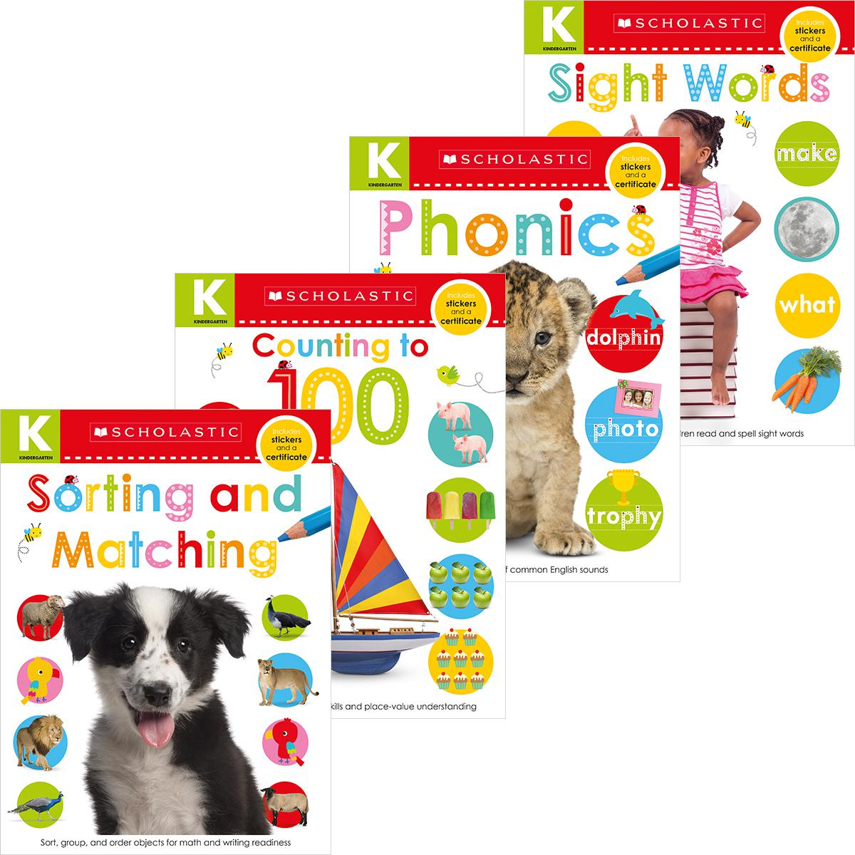 Scholastic Early Learners: Kindergarten Skills Workbook Pack