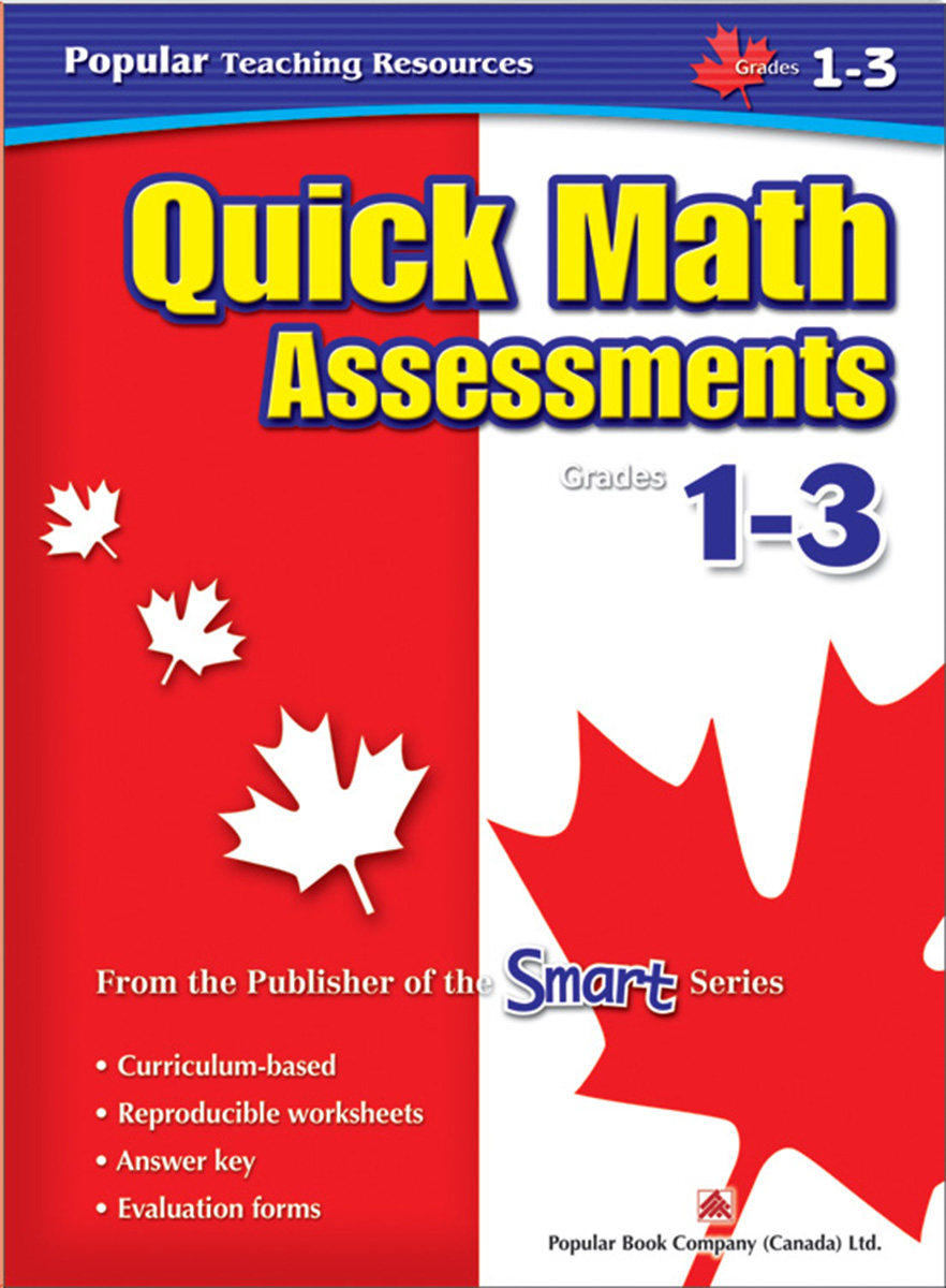 Quick Math Assessments Grades 1-3