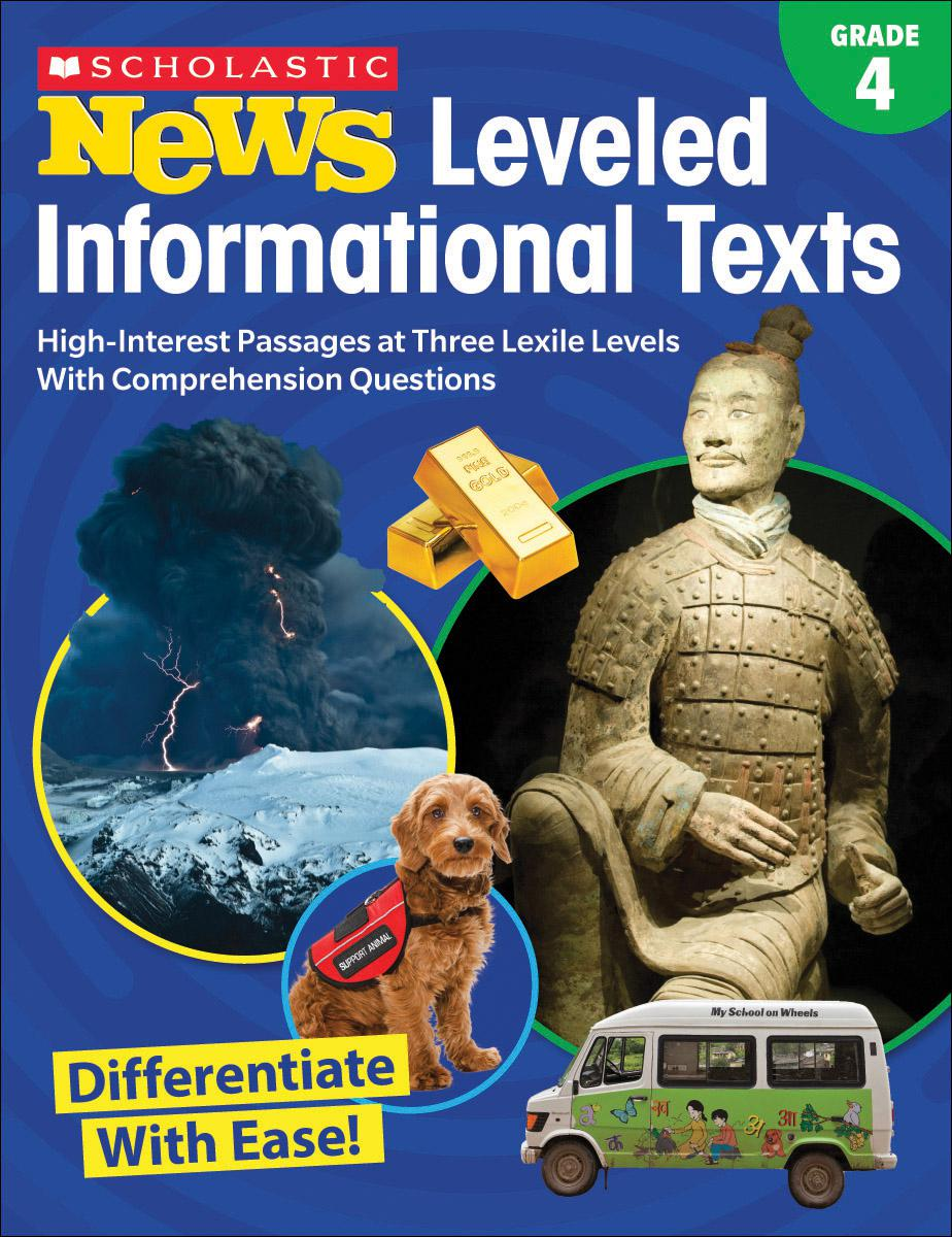 Scholastic News Leveled Informational Texts Grade 4