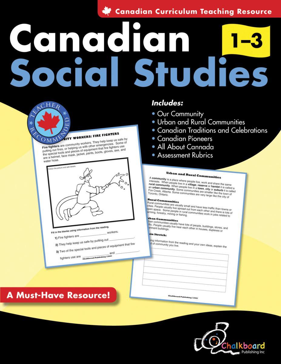 Canadian Social Studies Gr. 1-3