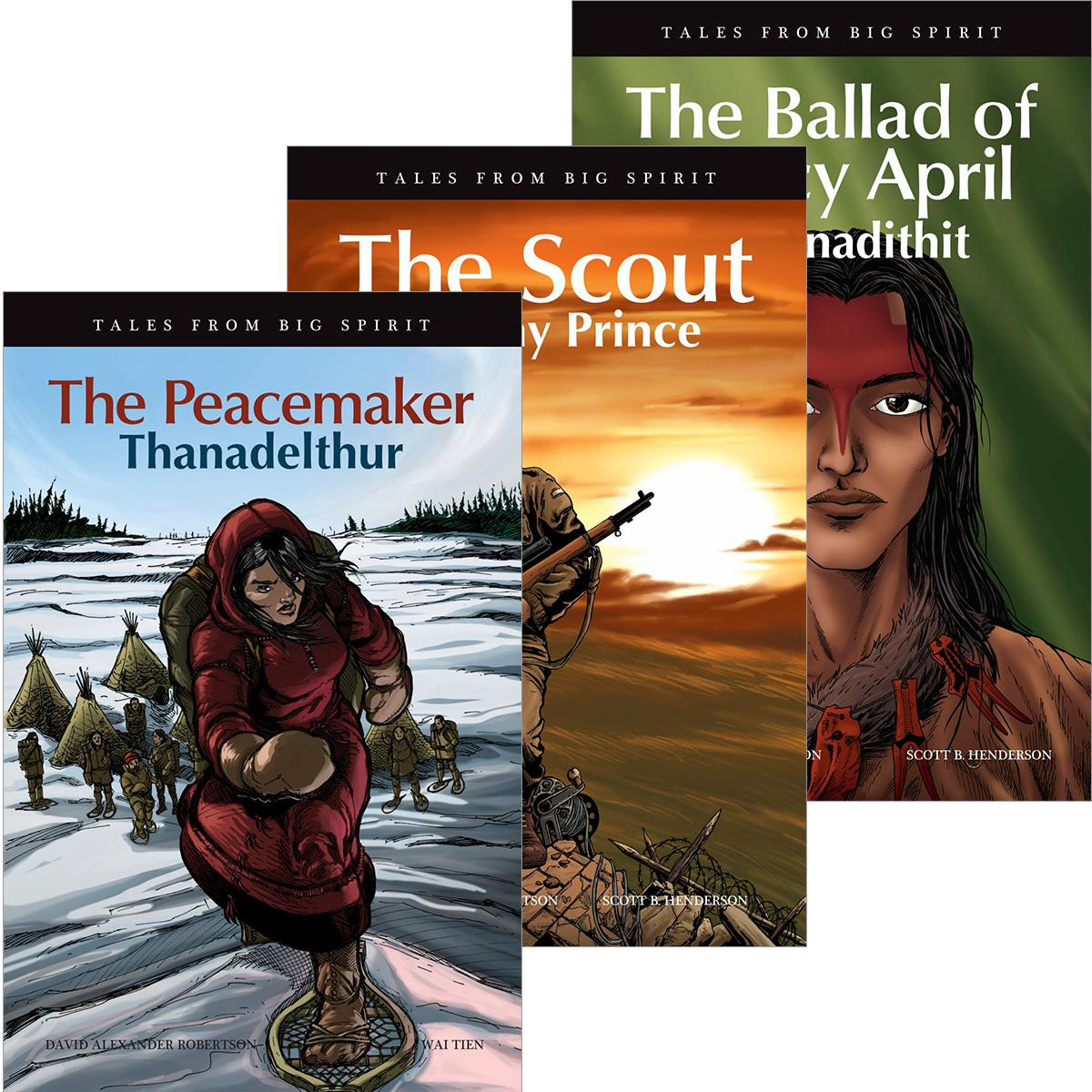 Tales from Big Spirit Graphic Novel Pack