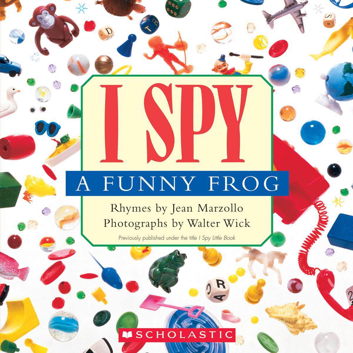 I Spy A Funny Frog 10-Pack