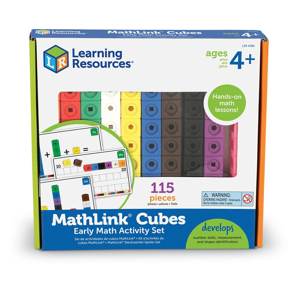 MathLink® Cubes: Early Math Activity Set