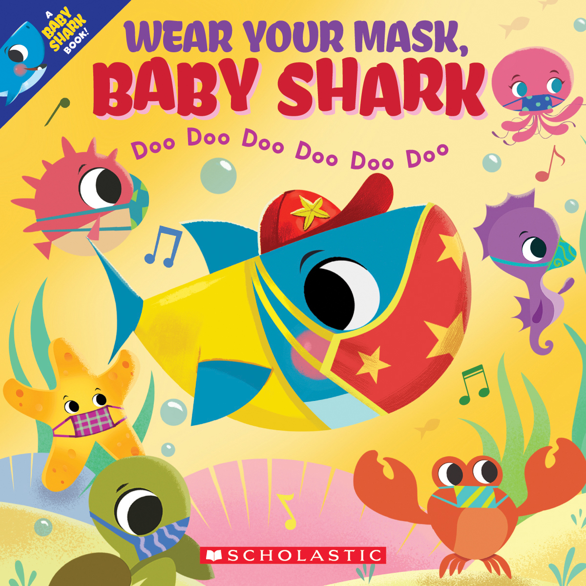 Wear Your Mask, Baby Shark