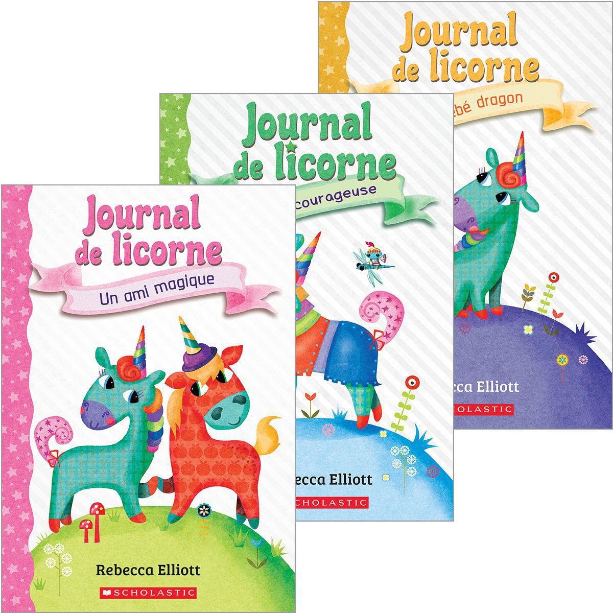 Ensemble Journal de licorne