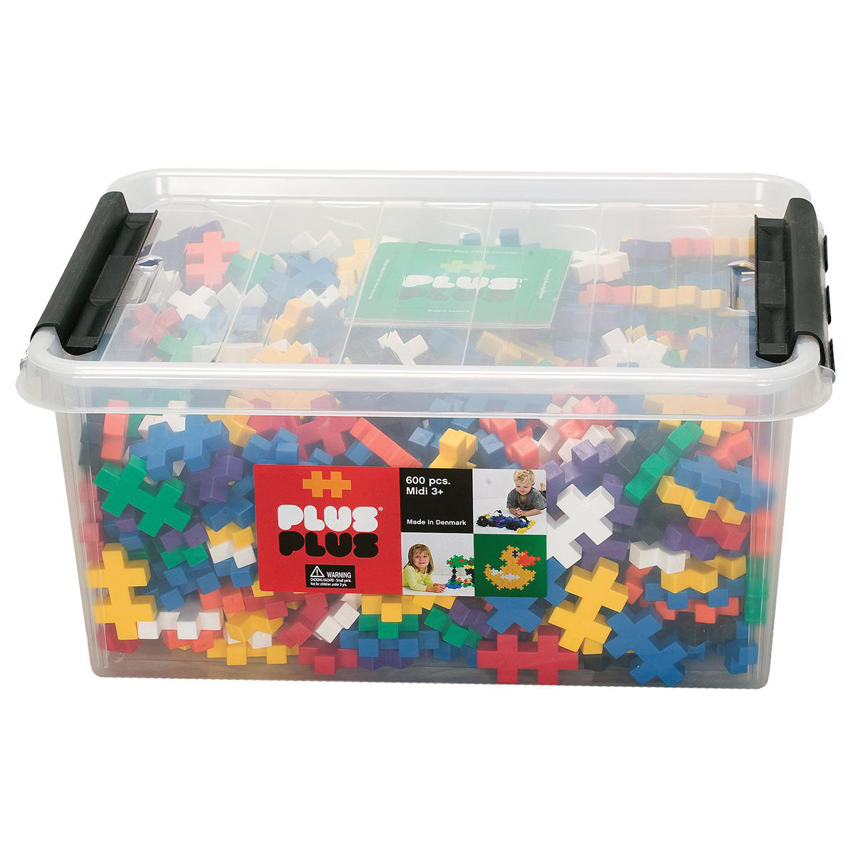Plus Plus Construction Sets (600 Medium pieces)