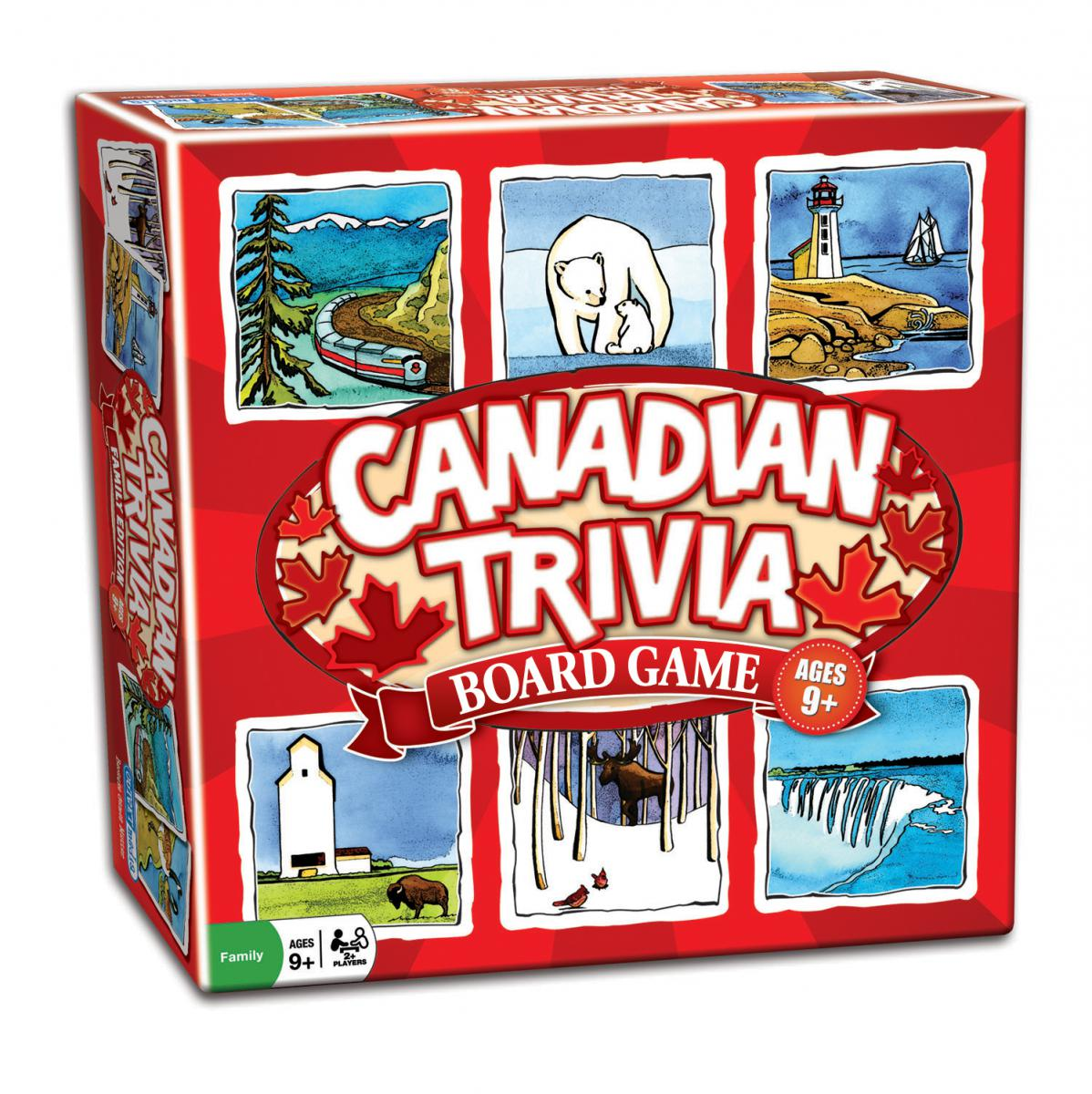 Canadian Trivia Board Game