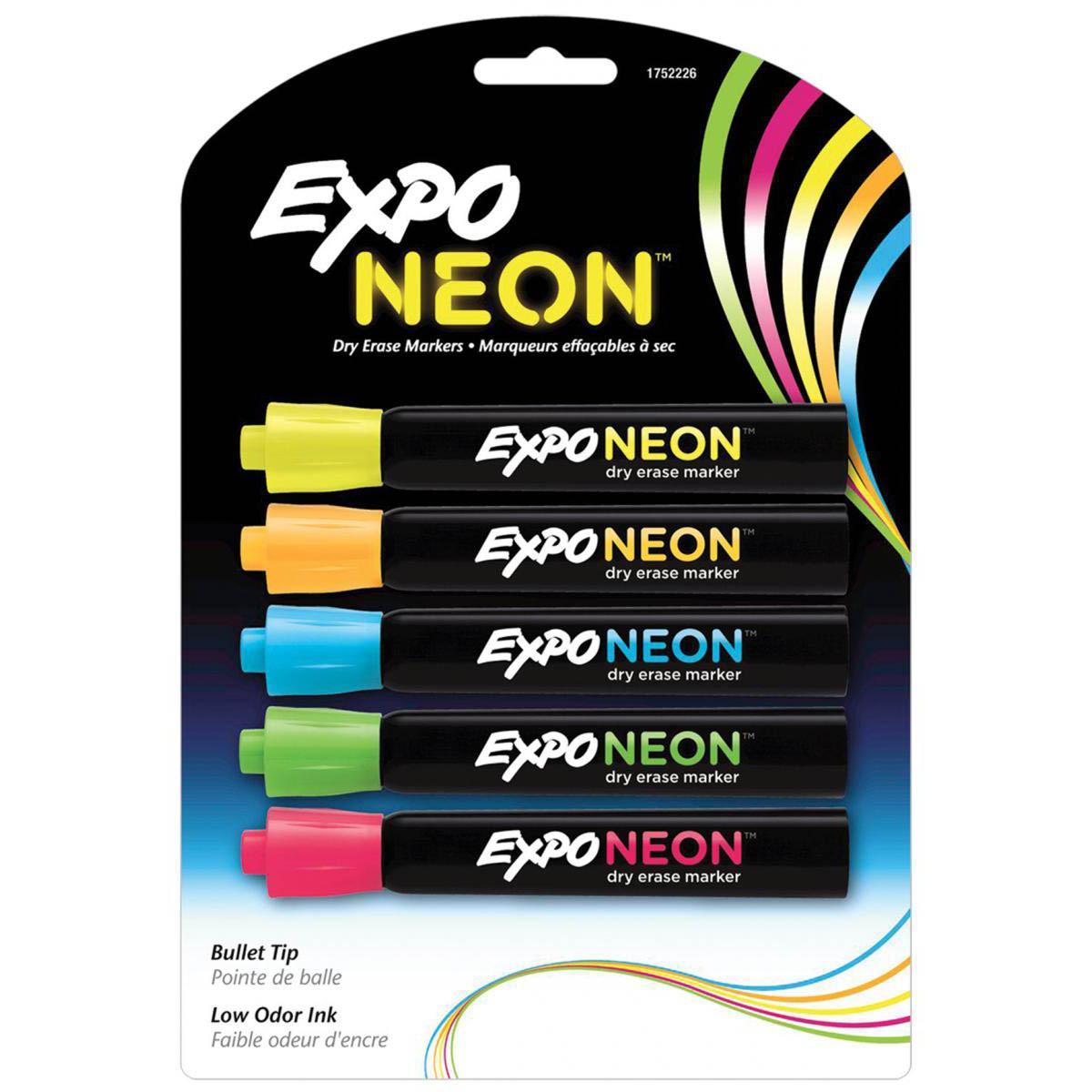 Marqueurs à essuyage à sec Expo® Neon