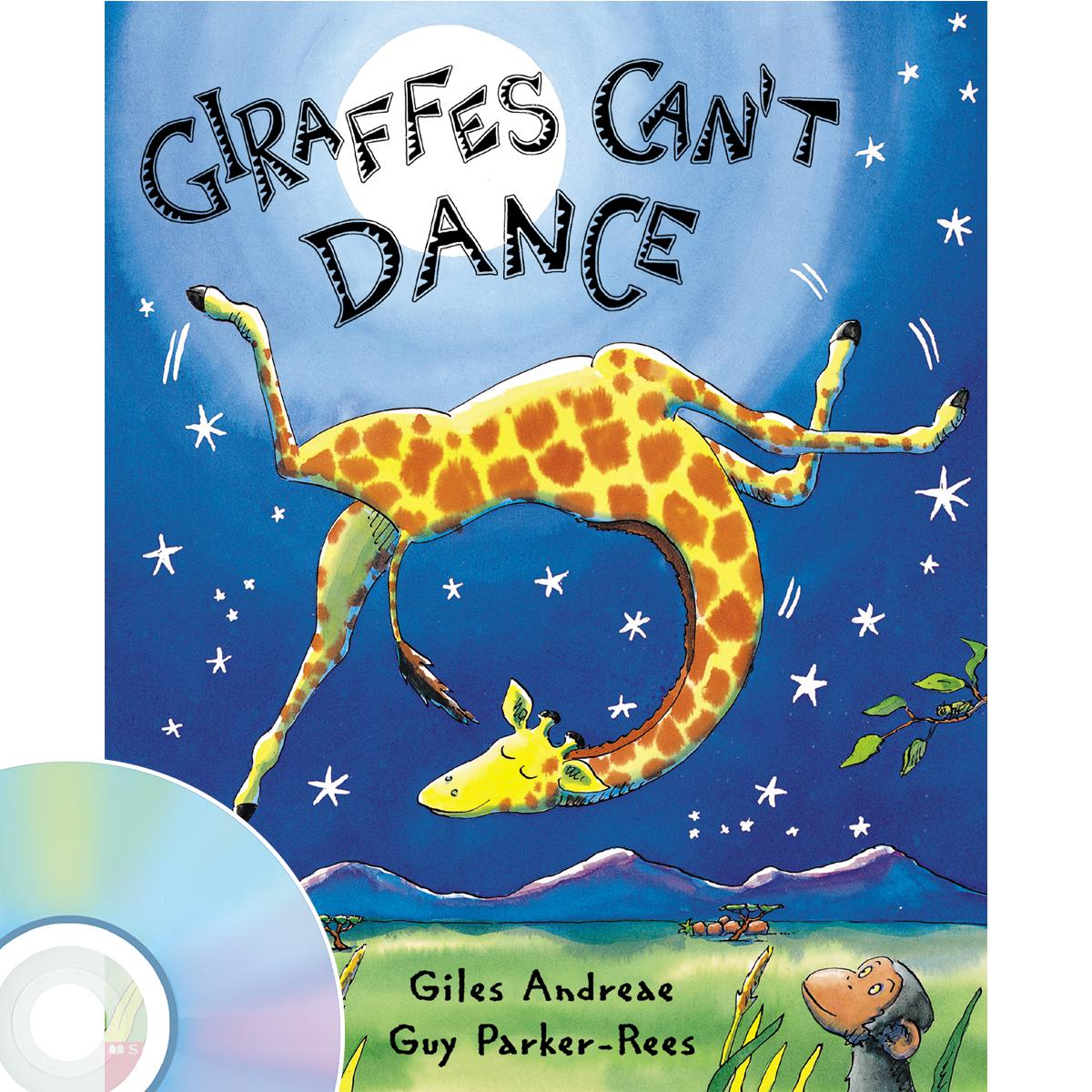 Giraffes Can't Dance Book & CD