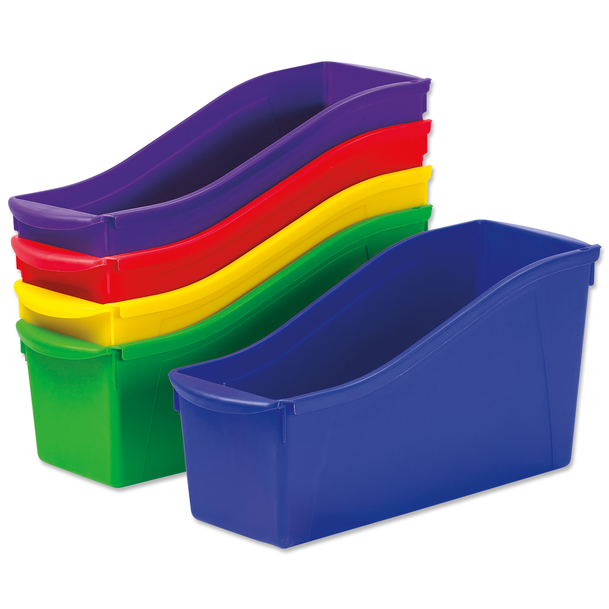Large Book Bins 5-Pack