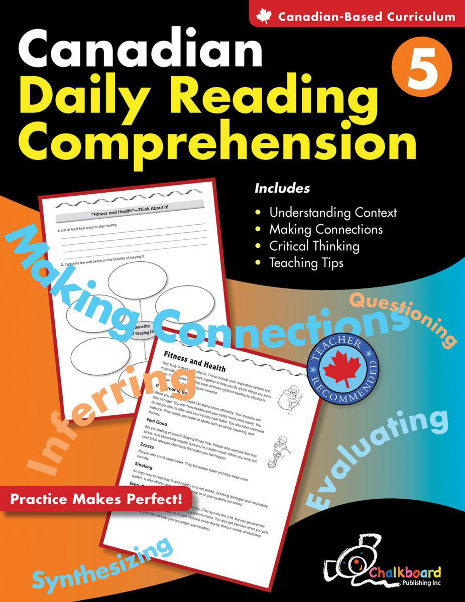 Canadian Daily Reading Comprehension Gr. 5
