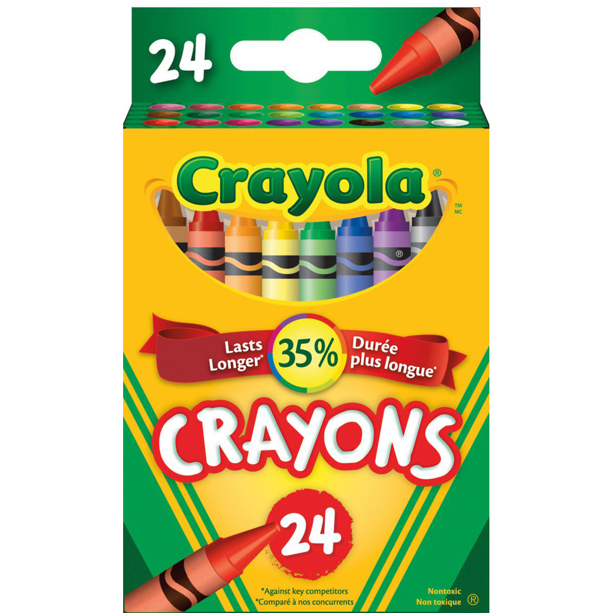 Crayola® Crayons: 24-Pack