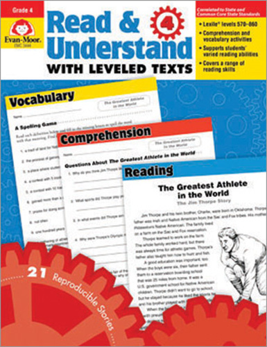 Read & Understand with Leveled Texts: Grade 4