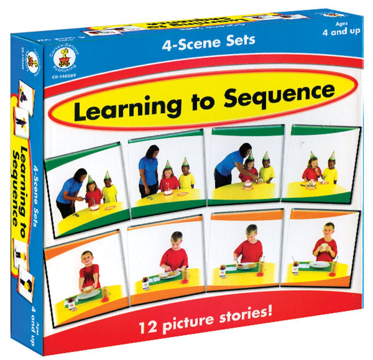 Learning to Sequence: 4-Scene Sets