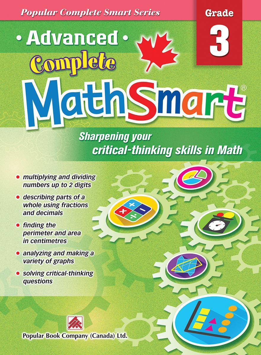 Advanced Complete MathSmart: Grade 3