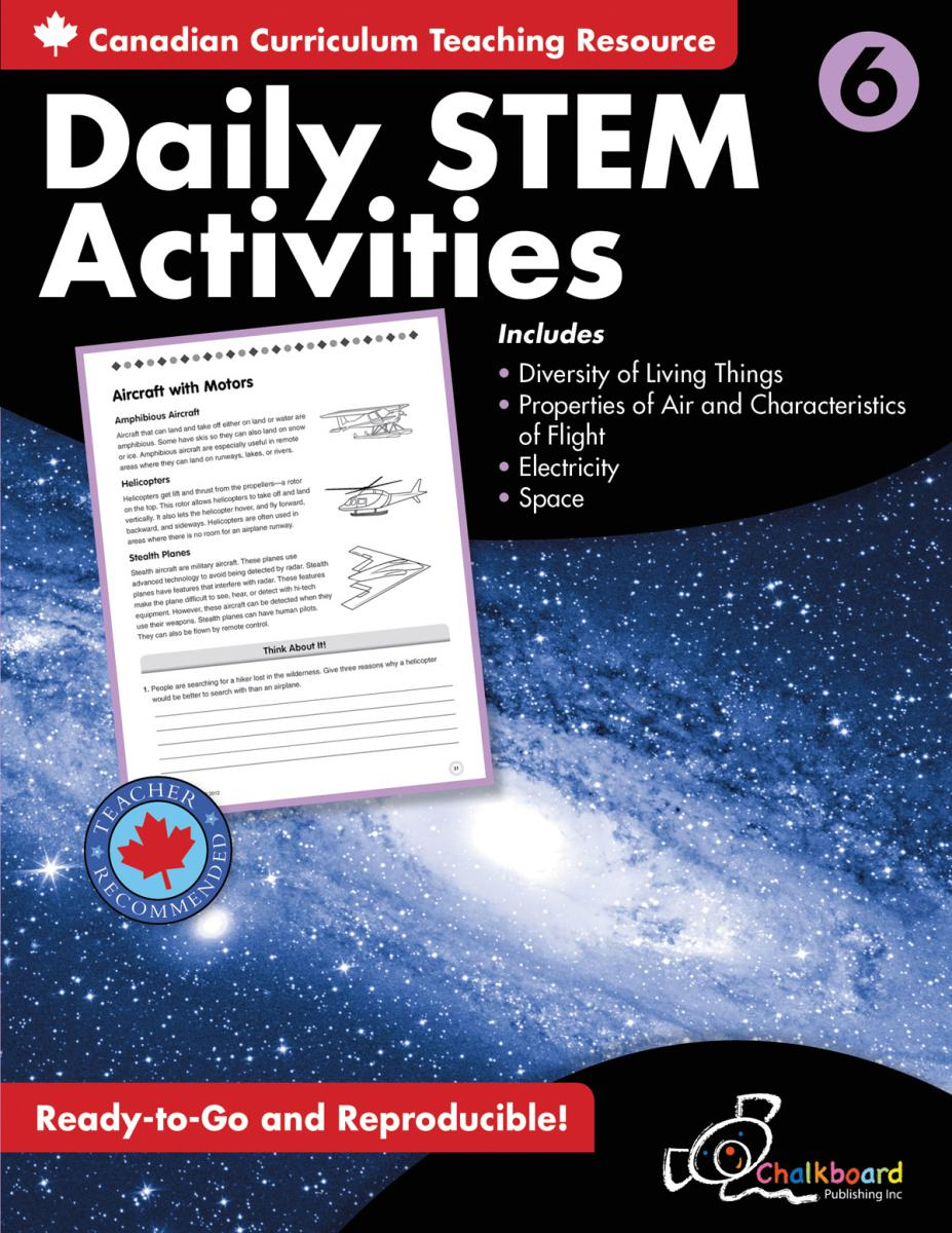 Canadian Daily STEM Activities Grade 6