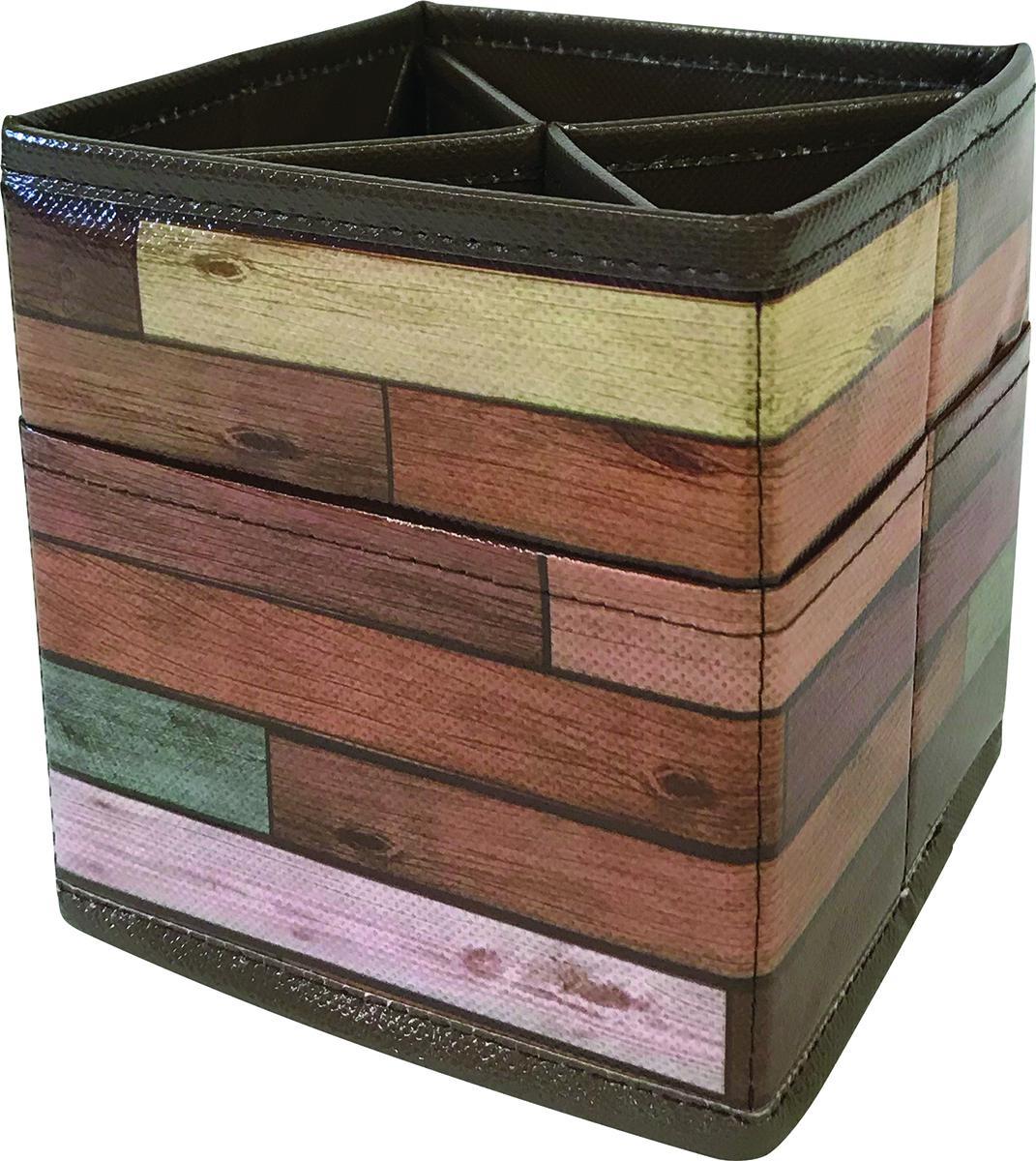 Desktop Organizer: Reclaimed Wood