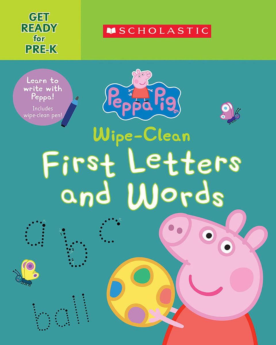 Peppa Pig: Wipe-Clean First Letter and Words