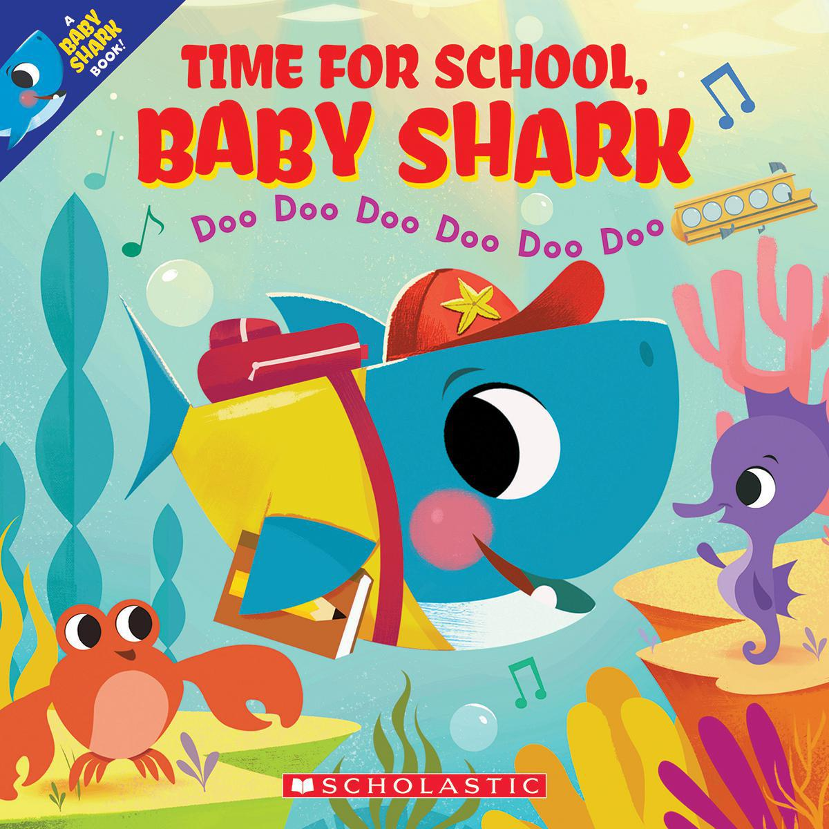 Time for School, Baby Shark
