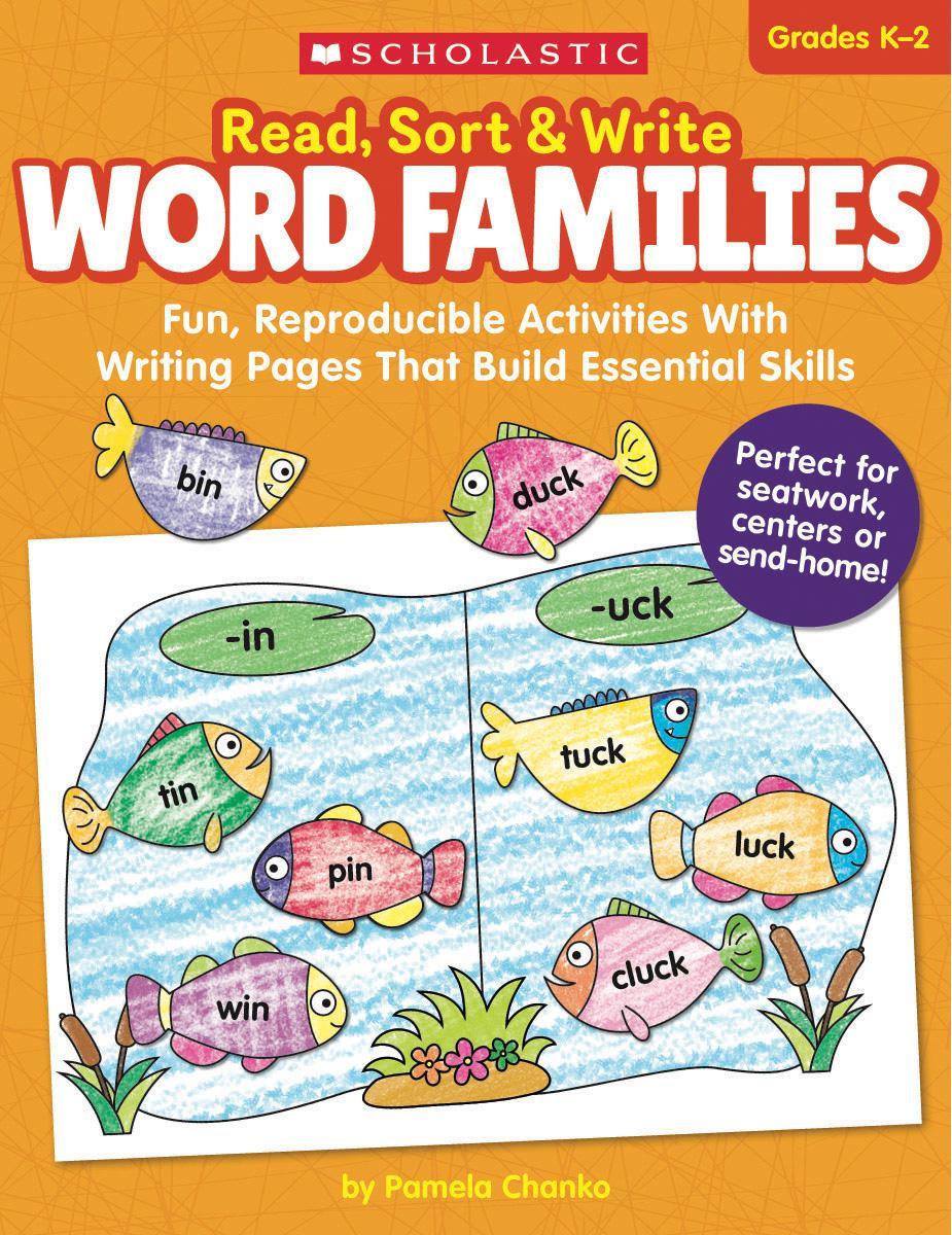 Read, Sort & Write: Word Families