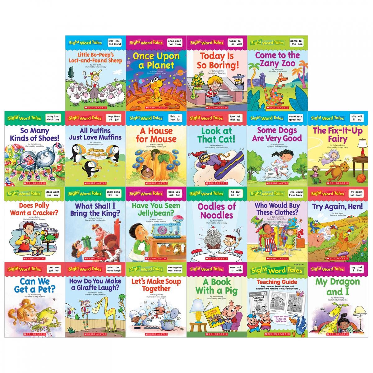 Sight Word Tales Boxed Set