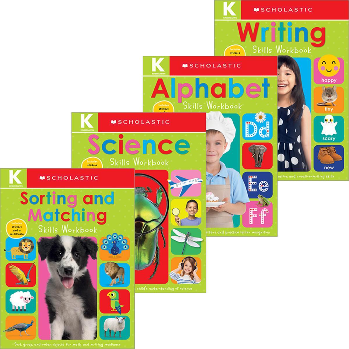 Scholastic Early Learners: Kindergarten Workbook Pack