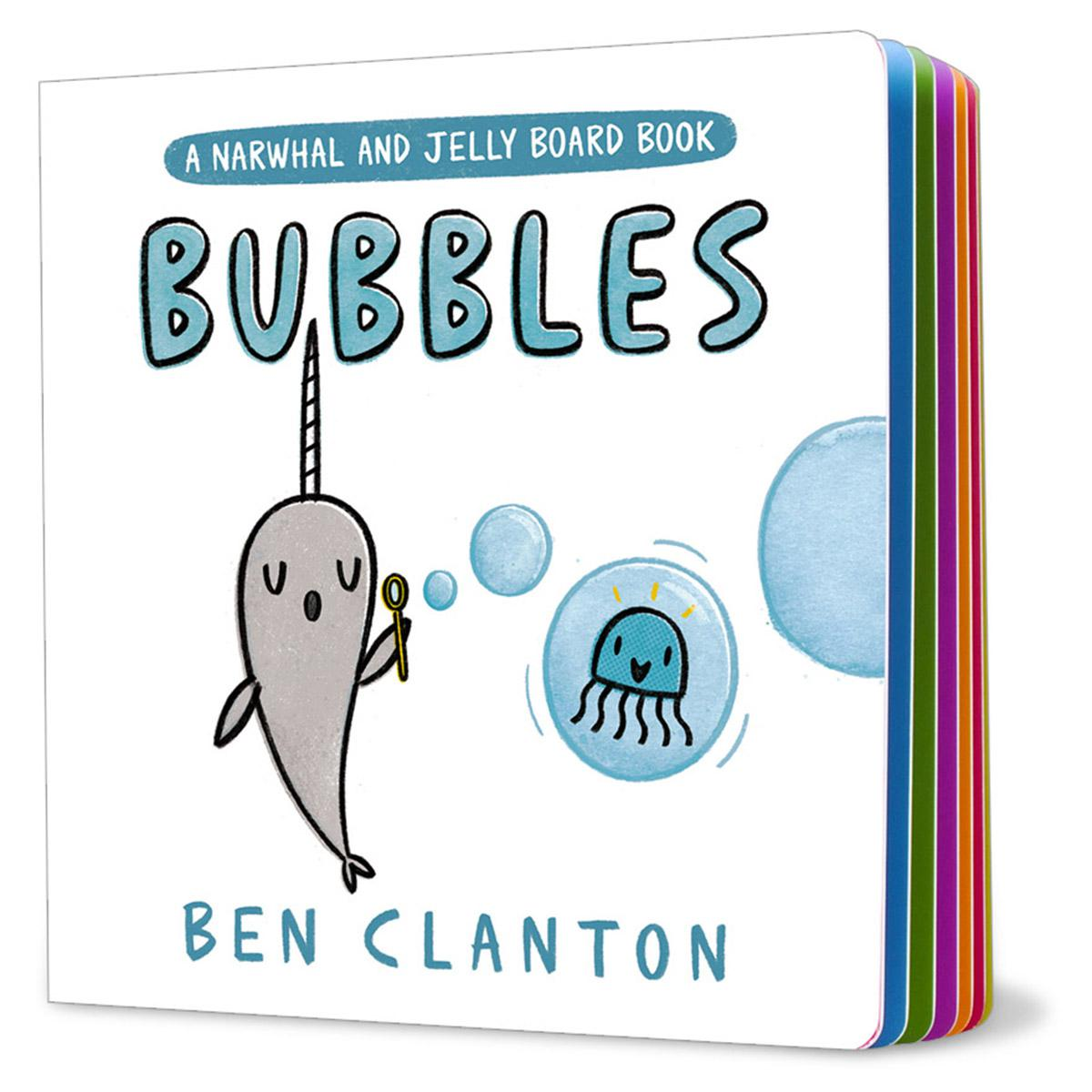Bubbles: A Narwhal and Jelly Board Book