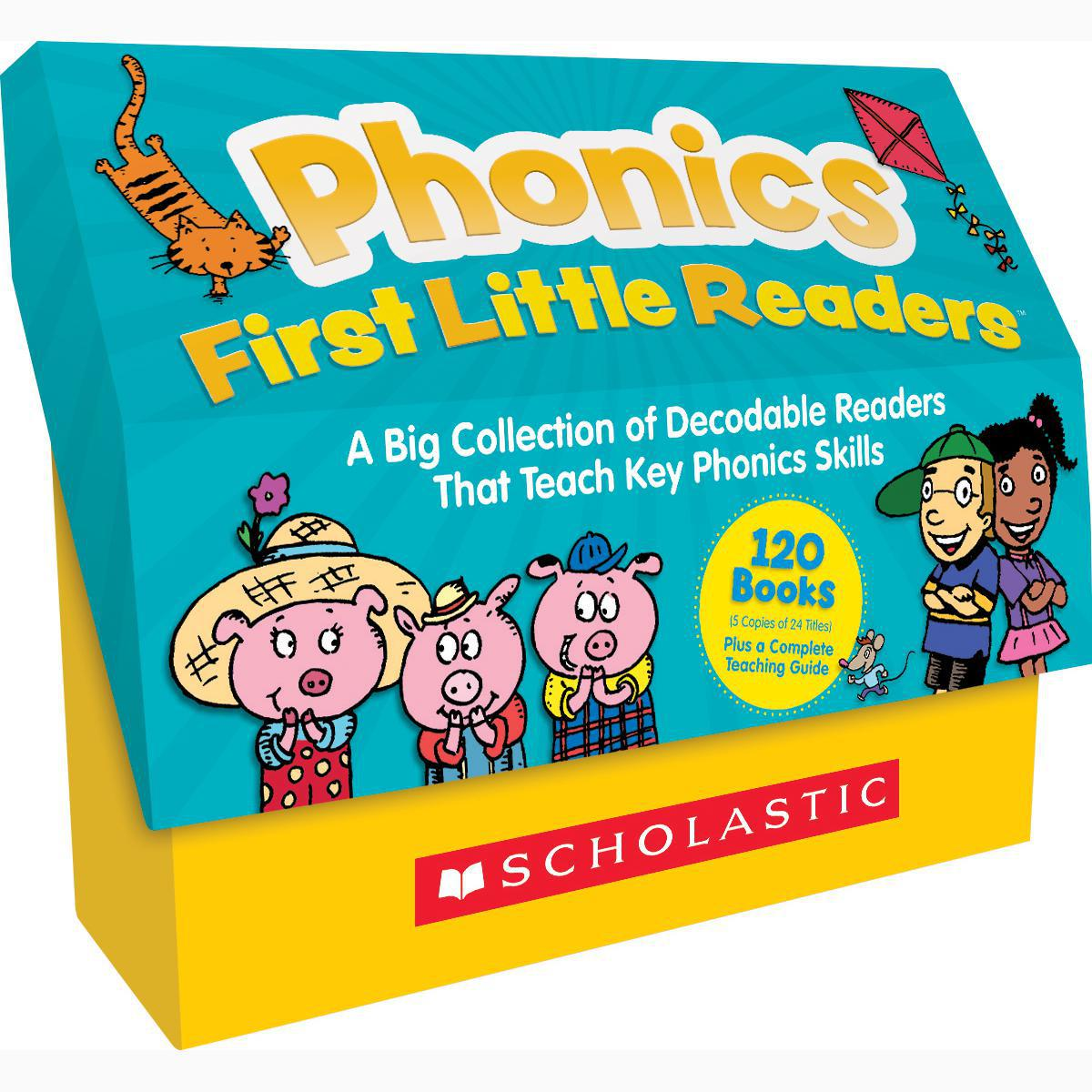 Phonics First Little Readers: A Big Collection of Decodable Readers That Teach Key Phonics Skills