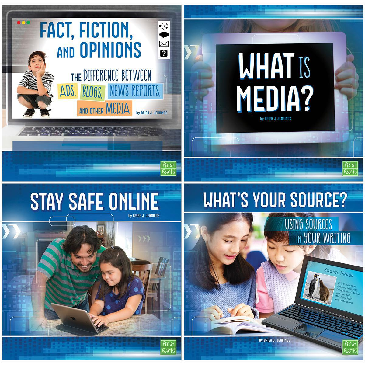 Capstone All About Media 4-Pack