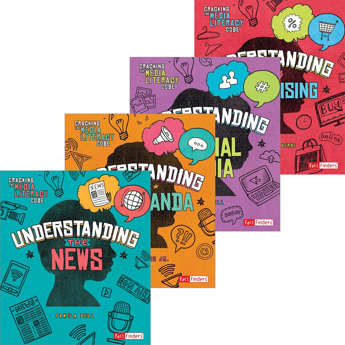 Capstone Cracking the Media Literacy Code 4-Pack